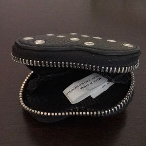 Target Bags - BLACK COIN PURSE WITH KEY RING